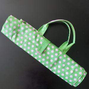 Murval Folding Packable Polka Dot Shopper bag